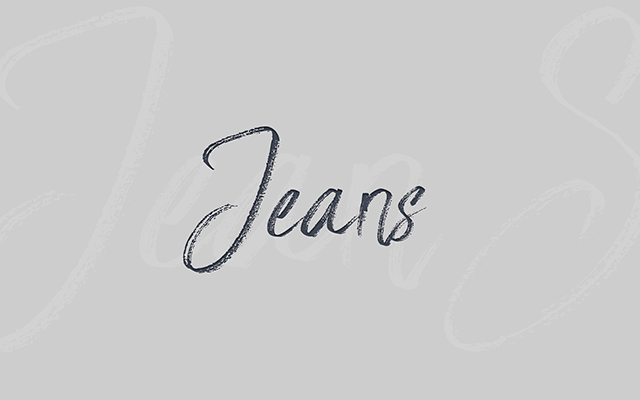 Jeans ...